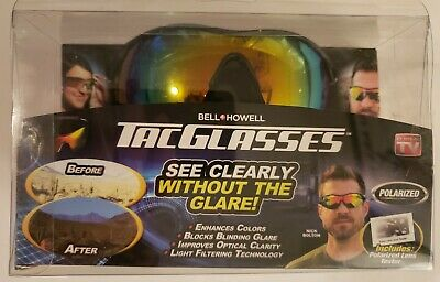 AU24.25 • Buy Bell And Howell ITEM # 1790FEQ Tac Glasses Sports Polarized Sunglasses