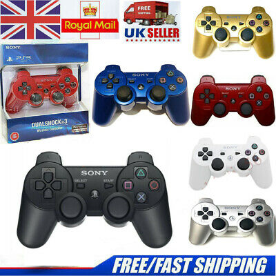 PS3 SONY Controller GamePad PlayStation 3 DualShock Wireless Bluthtooth SixAxis  • 13.99£
