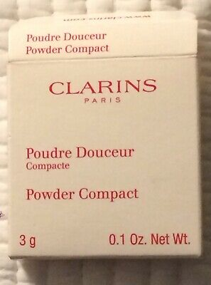 Clarins Bronzing Powder Compact - Colour 20 Natural Beige 3g NEW • 6£