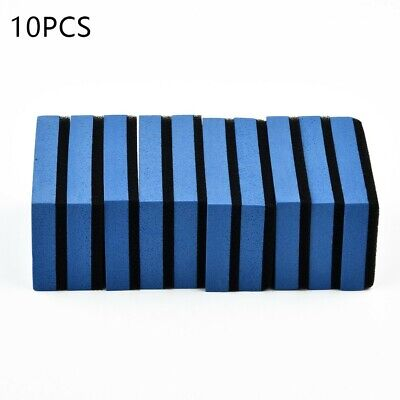 $5.45 • Buy 10Pcs Auto Ceramic Coating Sponge Glass Nano Wax Coat Applicator Polishing Pads