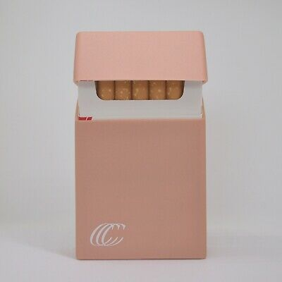 Silicone Cigarette Case Pack Cover King Size Box Holder Accessory - Blush Pink • 4.75£