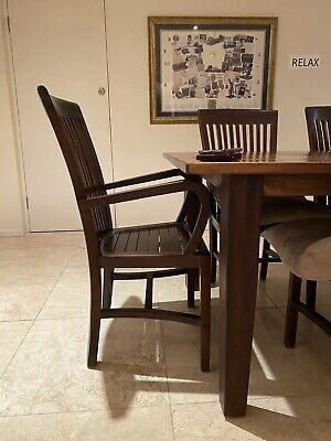 AU500 • Buy Solid Wood Dining Table With 8 Chairs