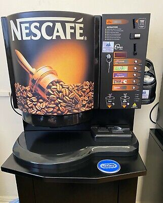 Darenth Encore Incup Vending Machine Coin Operated 73m In Cup Drinks  Tea Coffee • 650£