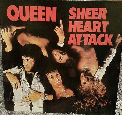 Queen Sheer Heart Attack Viynl  • 15£