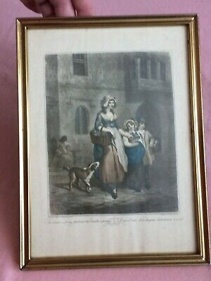 Decor Glazed Copy Framed Art Print  Cries Of London  Picture By F. Wheatley R.A  • 5£