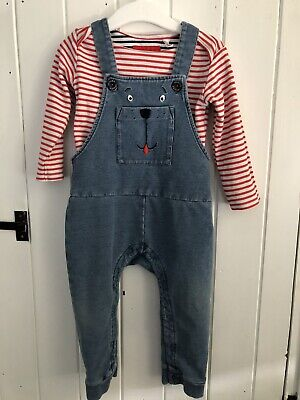 Joules Boys Dungarees And Matching Top 12-18 Months  • 2.20£