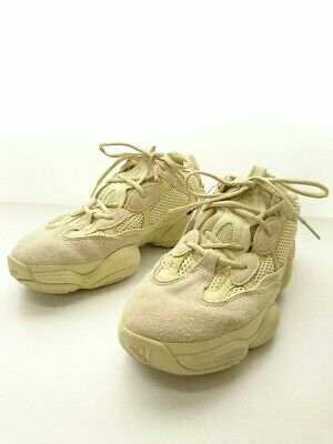 $ CDN409.62 • Buy Used Adidas Yeezy Boost 500 Super Moon Yellow/Low-Cut Sneakers/29Cm//Suede Shoes