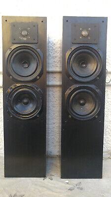 MONITOR AUDIO MA14 TOWER WOOFERS (x2) & JAMO COMPACT 70 SPEAKERS (x2) • 45£