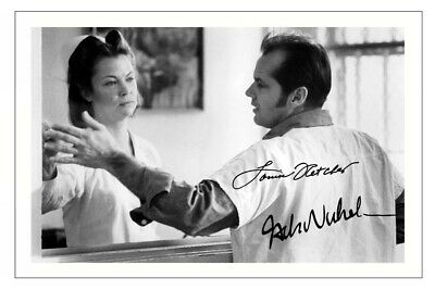 £1.89 • Buy JACK NICHOLSON & LOUISE FLETCHER Signed PHOTO Print ONE FLEW OVER CUCKOO'S NEST