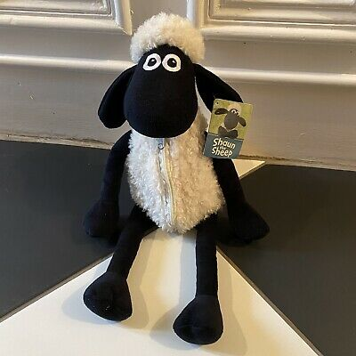 Shaun The Sheep Plush 2012 With Zip Aardman - Wallace & Gromit New With Tags • 7.49£