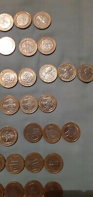 2 Pound Coins Job Lot Of 32 Rare Coins • 60£