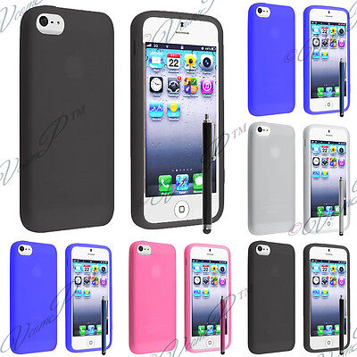 Accessories Cover Case TPU Silicone Gel Apple IPHONE 4 4S 4G • 3.31£