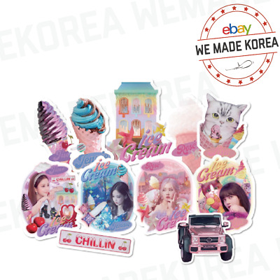 $ CDN18.75 • Buy BLACKPINK ICECREAM MV Stickers 11types Official K-POP Authentic Goods