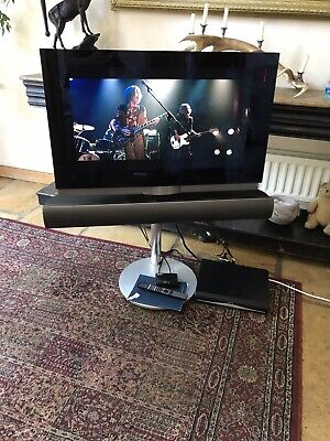 Bang & Olufsen Beovision 7 32  Television Dvd Hd Motorised Floor Stand Sky Hd + • 125£