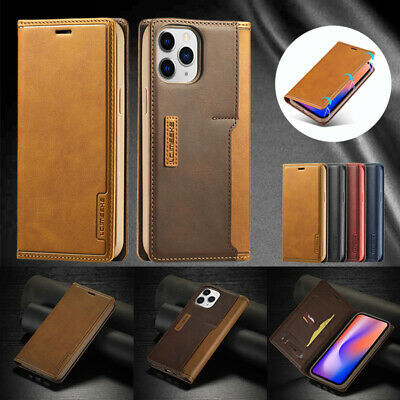 AU15.99 • Buy For IPhone 12 11 Pro Max XR X/XS SE 8 7 Plus Case Leather Wallet Card Flip Cover