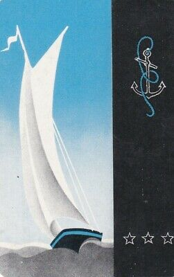 AU4 • Buy Vintage Swap Card, Blank Back, Sailing, Yachts