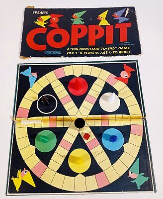 Coppit Spear's Games Board Game Complete Vintage 1964 Retro Family Fun • 14.99£