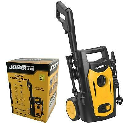 £71.99 • Buy Jobsite 1400W Electric Pressure Washer High Power Jet Wash Cleaner 105bar