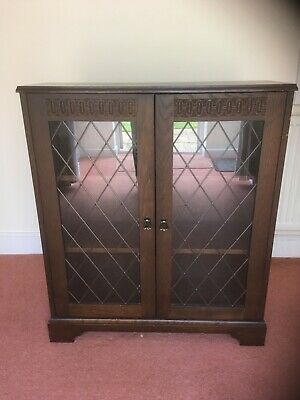 £85 • Buy Vintage New Plan Glass Fronted Book Case