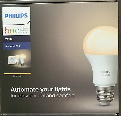 AU69.95 • Buy Philips Hue Starter Kit A60 New Sealed