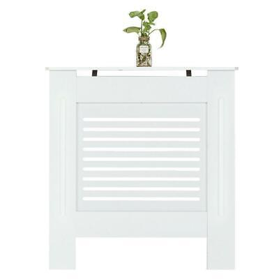 White Radiator Cover MDF Board Modern Horizontal Slatted Grill Small • 31.95£