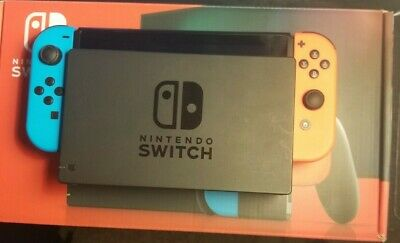 $ CDN343.56 • Buy Nintendo Switch Lightly Used - 32gb With Red And Blue JoyCon And All Accessories