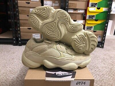 $ CDN273.18 • Buy Adidas Yeezy Boost 500 Super Moon Yellow DB2966 Size 9 100% Authentic