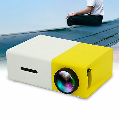 AU75.42 • Buy YG300 PVC Home Mini Portable 1080 HD Projector LED Theater Media Player Kid Gift