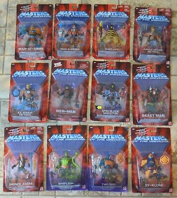 $395 • Buy MOTU, He-Man Figures Lot Of 12, Masters Of The Universe, 200x, MOC Sealed, MISB