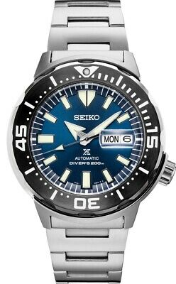 $ CDN419.93 • Buy New Seiko Automatic Prospex Monster Blue Dial Divers 200M Men's Watch SRPD25