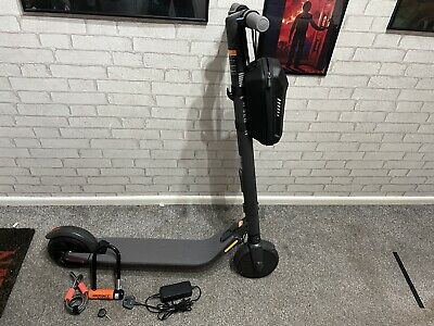 Segway Ninebot ES2L Electric Scooter, With Front Bag And Lock • 330£