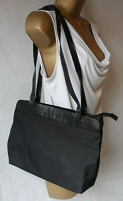 Ladies Black Shoulder / Underarm Bag By Mexx Zip Closure Internal Zipped Pocket  • 1.50£