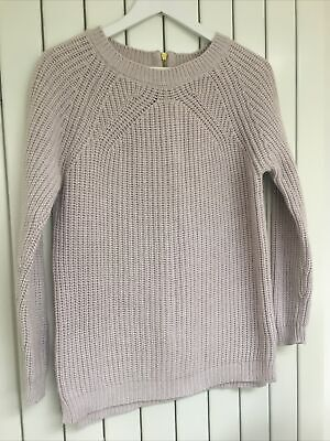 Marks And Spencer, Autograph Womens Jumper Size 10 Chunky Knit, Beautiful! • 9.99£
