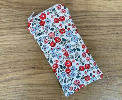 Zipped Glasses / Sunglasses Case (g) Made Using Cath Kidston Fabric By Dawn • 5.50£
