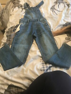 Girls Dungarees Age 9-10 Bnwt • 4.10£