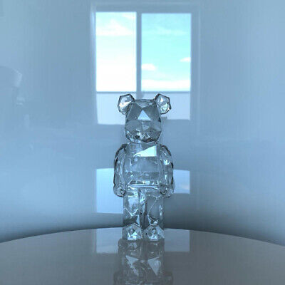 $2238 • Buy Baccarat Fragment Design BE@RBRICK Bearbrick POLYGON STANDING Crystal Glass Jp