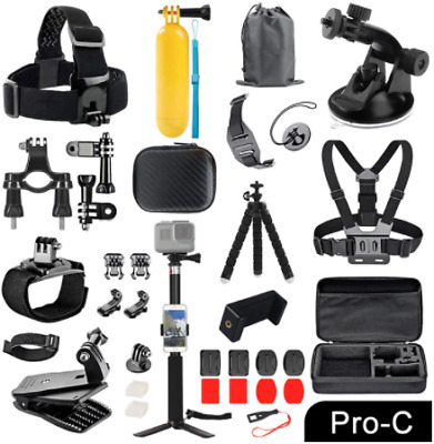 $ CDN88.24 • Buy ORBMART For GoPro Accessories Set For Go Pro Hero 9 8 7 6 5 4 Black Mount For