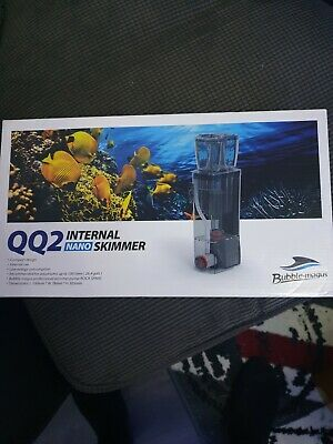 Bubble Magus Qq2 Internal Nano Protein Skimmer For Reef And Saltwater Aquarium • 39.99£
