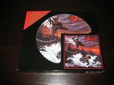 DIO Holy Diver Audio Fidelity Gold CD Steve Hoffman Limited Edition MINT • 30.37£