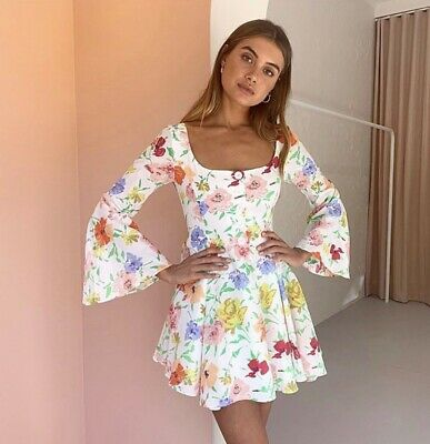 AU220 • Buy Alice McCall Picasso Mini Dress Size 8 Brand New With Tags