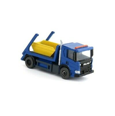 £15.95 • Buy N Gauge 1:148 British Commercial Classics Skip Truck Lorry (Blue) Ready To Plant