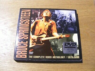 Bruce Springsteen - The Complete Video Anthology 1978 - 2000 Dvd (2 Discs) • 3£