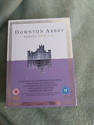 Downtown Abbey Series One-Six DVD Boxset All 52 Episodes Regions 2,4 & 5. • 20£