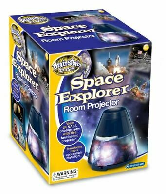 Brainstorm Toys Space Explorer Room Projector Night Light • 12.49£