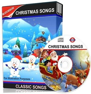 Christmas Sing-along Cd 20 Sing A Long Songs For Kids On Cd • 3.59£
