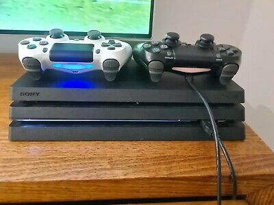 AU375 • Buy LIKE NEW Sony Playstation 4 PS4 Pro Console 1TB Console