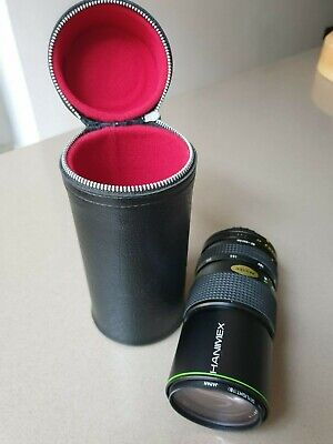 Hanimex Auto Zoom Lens 1:4,5  F=80mm-200mm.  Used . No. 903425 • 4£