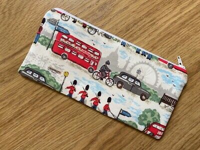 Pencil Case Make Up Case Glasses Case (i) Made Using Cath Kidston Fabric By Dawn • 5.50£