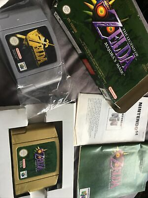 The Legend Of Zelda: Majora's Mask And The Ocarina Of Time • 70£