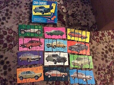 Vintage Car Capers Game By Spears Games Complete  • 4.99£